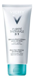 Kosmētikas noņemšanas līdzeklis Vichy Purete Thermale 3-in-1 One Step Cleanser, 200 ml