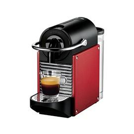 Kapsulas kafijas automāts Nespresso Pixie, melna/sarkana