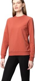 Audimas Womens Stretch Cotton Sweatshirt Redwood L