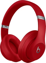 Ausinės Beats Studio3 Wireless Red, belaidės