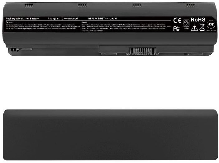 Qoltec Long Life Notebook Battery For HP 635/650/655 4400mAh