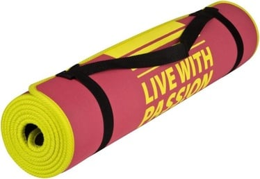 Spokey Flexmat IV Pink Yellow 838319