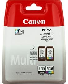 Кассета для принтера Canon, синий/желтый/фиолетовый, 8 мл