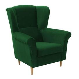 Fotelis Idzczak Meble Loft, 88 x 80 x 105 cm, žalia