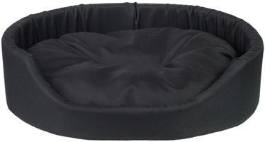 Amiplay Basic Oval Bedding XXL 86x76x17.5cm Black
