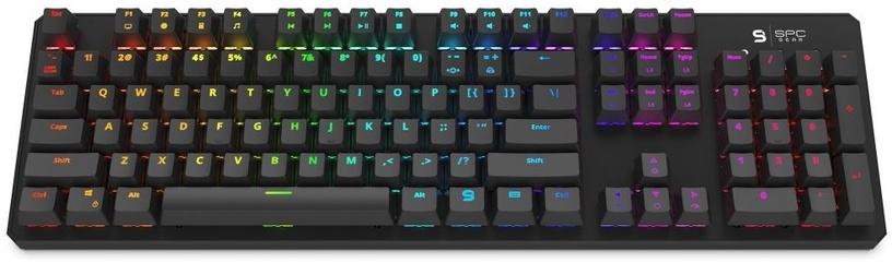 Игровая клавиатура Spc Gear GK540 Kailh Brown Black EN
