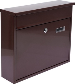 Vorel 78577 Mailbox 360x310x100mm Brown