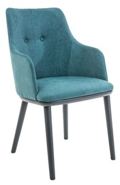 Signal Meble Chair Flip Graphite Turquoise