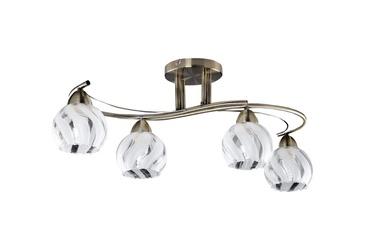 LAMPA GRIESTU 93227BR.4H.WT+CL 4X60W E27