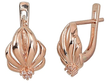 Diamond Sky Gold Earrings Riven I