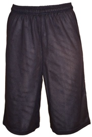 Bars Mens Basketball Shorts Dark Blue 176 XXL
