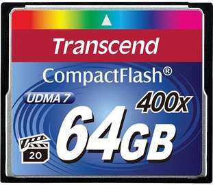 Transcend 64GB Compact Flash 400x