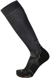 Mico Long Light Running Sock Oxi-Jet Black/Grey 41-43