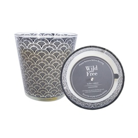 Свеча Glass Candle Wild & Free 11x11cm