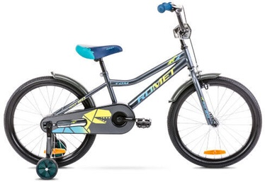 Bērnu velosipēds Romet Tom 10'' 20'' Graphite