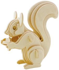3D пазл Gerardos Toys Squirrel, 20 шт.
