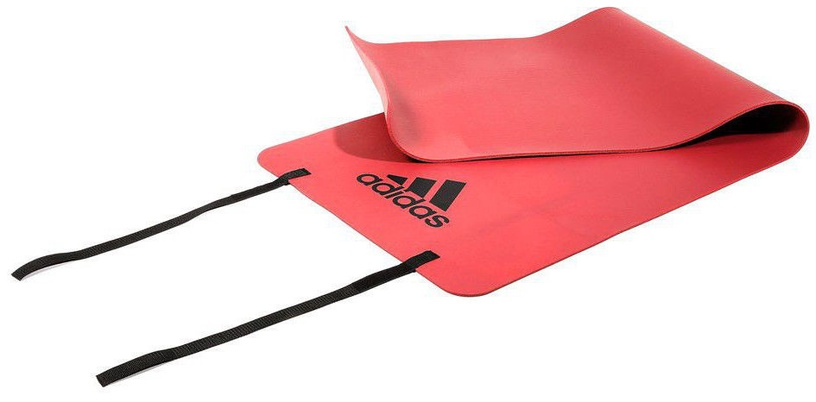 Adidas Fitness Mat 173x61cm Red