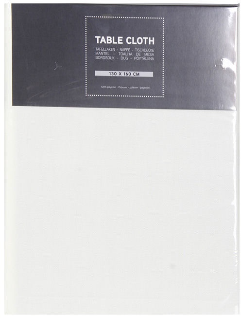 Verners Tablecloth 130x160cm White