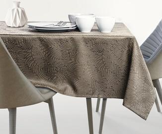 AmeliaHome Gaia AH/HMD Tablecloth Cappuccino 150x220cm