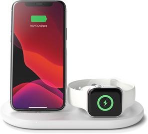 Belkin 3 in 1 Wireless Charging White