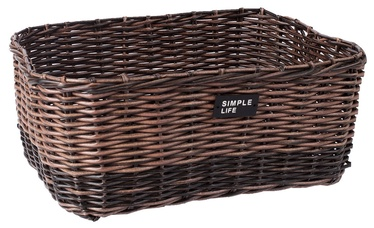 Home4you Basket Ruby-1 44x33x18cm Brown