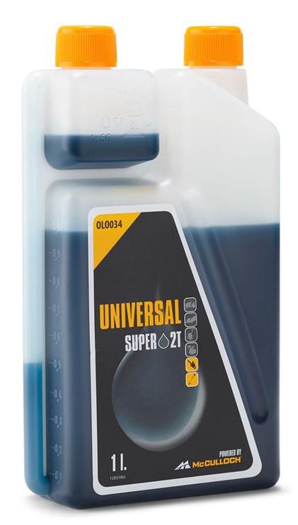 McCulloch Universal OLO034 Super 2T Oil with Dosator