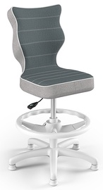 Детский стул Entelo Petit CR06, синий/белый, 300 мм x 895 мм