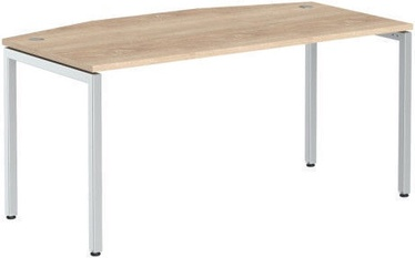 Skyland Executive Table XTEN-S XSET 189 Sonoma Oak/Aluminum