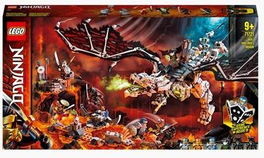 Конструктор LEGO®Ninjago Дракон чародея-скелета 71721
