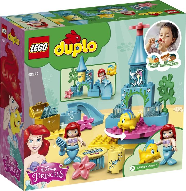 Конструктор LEGO Duplo Подводный замок Ариэль 10922, 35 шт.