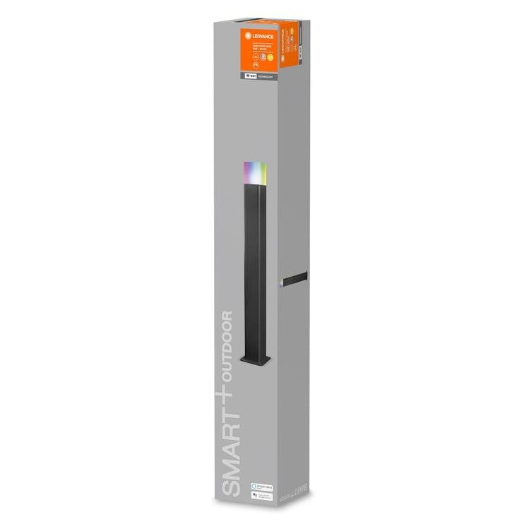 Светильник Ledvance CUBE 4058075478176, 1x10Вт, 3000-6500°К, LED, IP44, серый