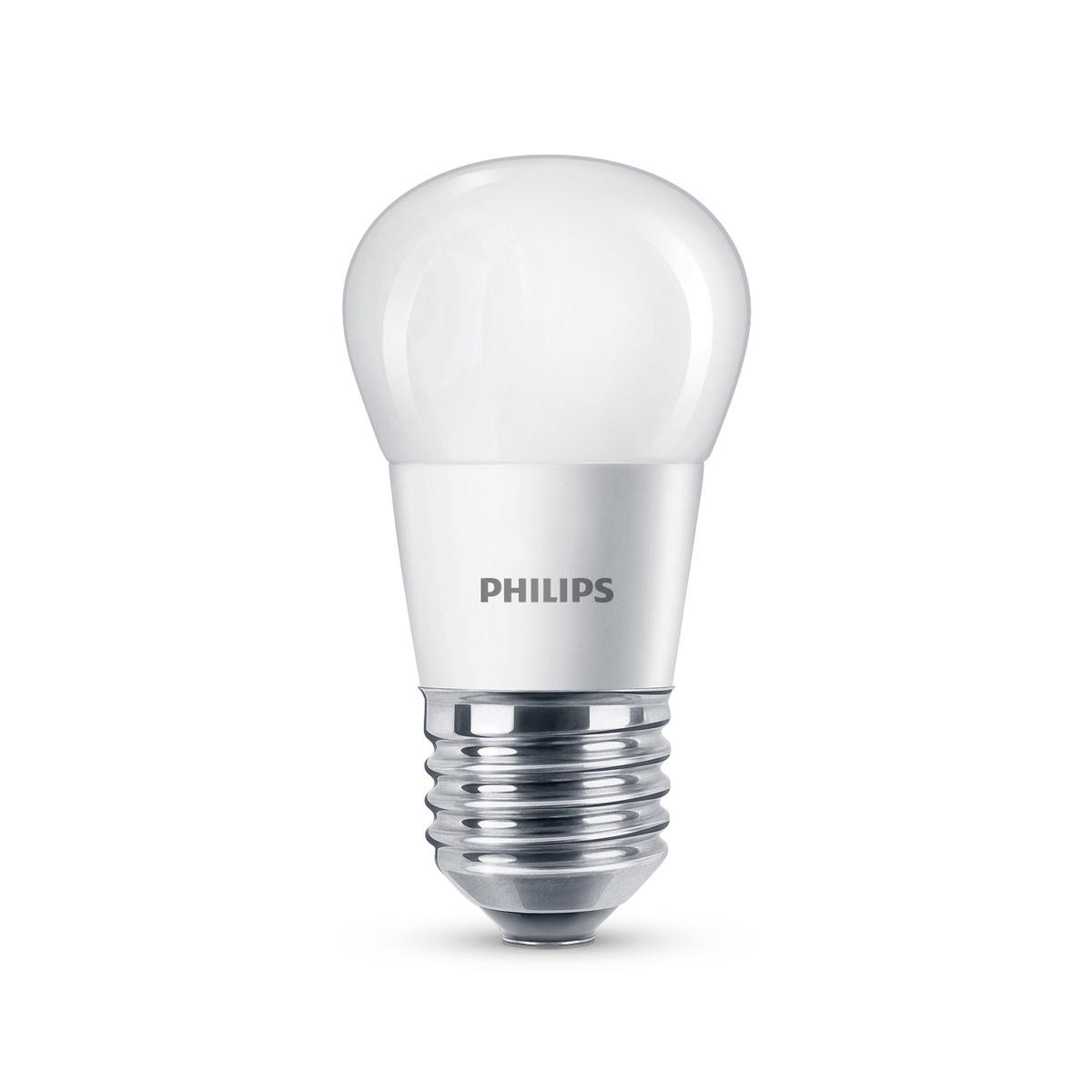 08d25d51361 Lambipirn Philips 5,5W LED E27 P45 470LM