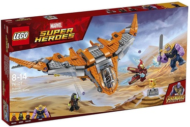Konstruktorius LEGO Super Heroes Thanos Ultimate Battle 76107