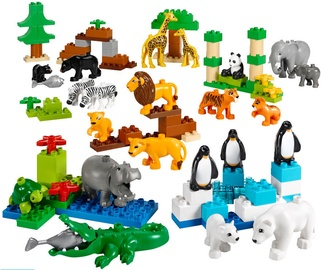 Конструктор LEGO Duplo Wild Animals Set 45012