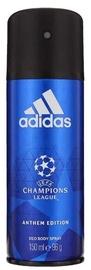 Мужской дезодорант Adidas UEFA Champions League Anthem Edition Deodorant Spray 150ml