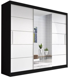 Idzczak Meble Wardrobe Alba Black/White
