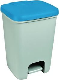 Мусорное ведро Curver Essentials, синий/серый, 20 л