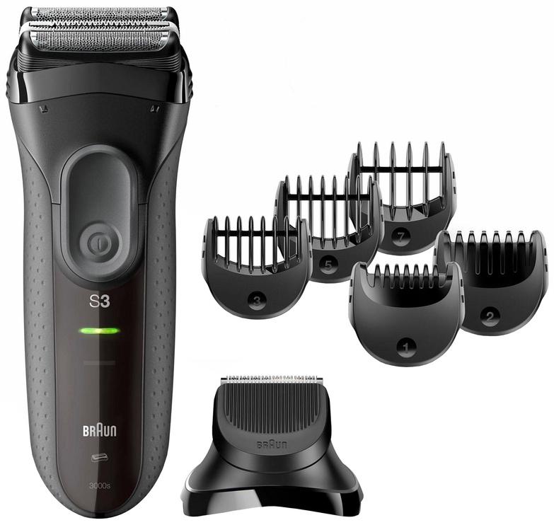 Barzdaskutė Braun Series 3 Shave&Style 3000BT