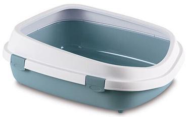 Кошачий туалет Zolux Jumbo, синий, 550x710x245 мм