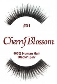 Cherry Blossom 100% Human Hair Eyelashes 01