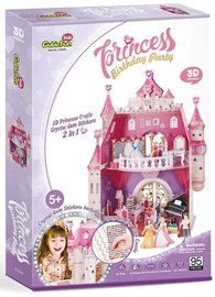 3D dėlionė CubicFun Princess Birthday 3D, 95 dalių