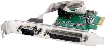 Gembird COM Serial port + LPT Port PCIE PEX-COMLPT-01