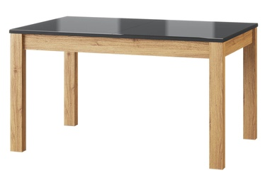 Szynaka Meble Kama 40 Extendable Table Camargue Oak/Black Matt