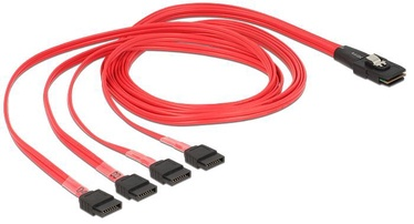 Juhe Delock Cable mini SAS SFF-8087 to SATA x4
