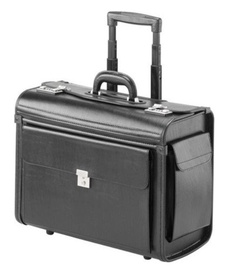 """Falcon Media Rolling Notebook Bag For 17"""" Black"""