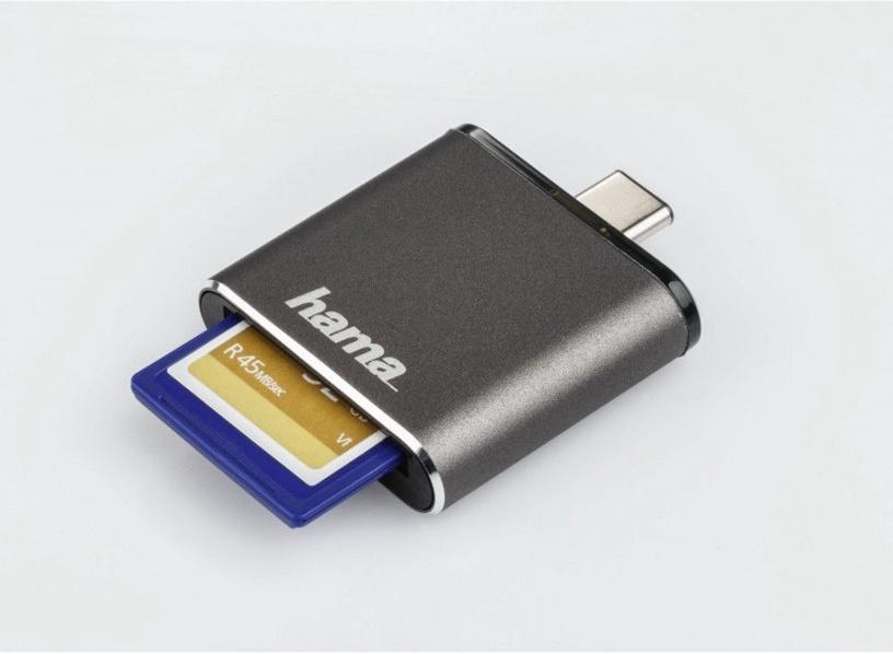 Hama 124186 USB 3.1 Type-C OTG Grey