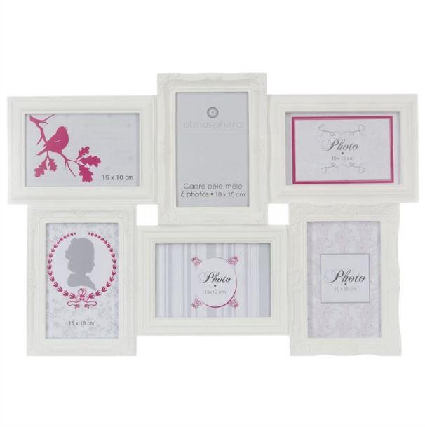 Nuotraukų rėmelių koliažas Romance, 50 x 35 cm
