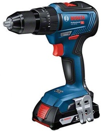 Bosch GSB 18V-55 With Batteries & Quick Charger & L-bag