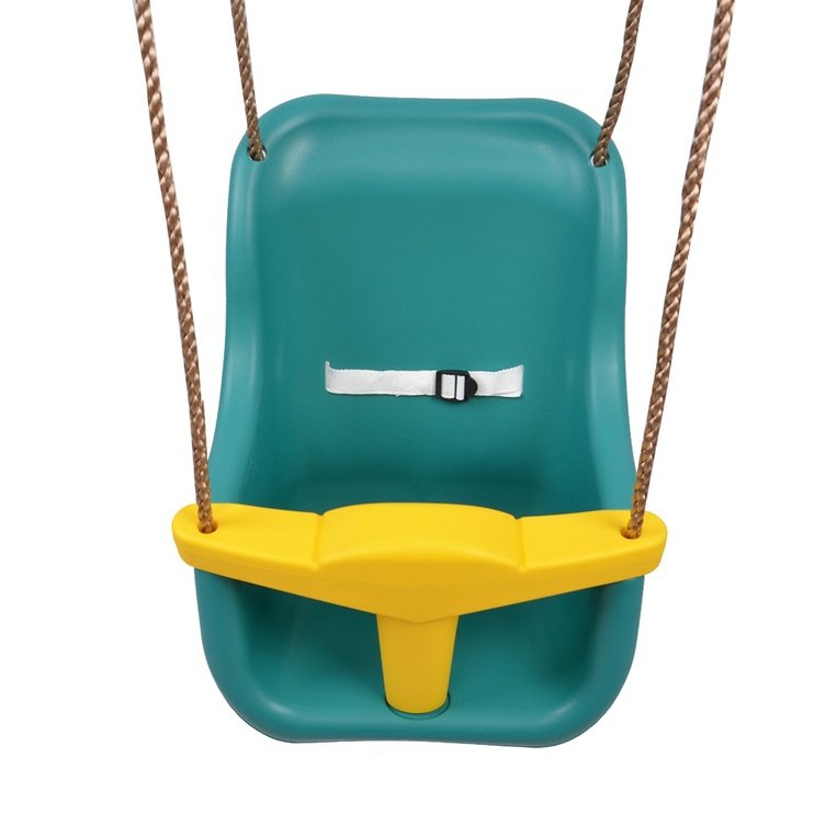 Vaikiška sūpynė - kėdutė, vienvietė, žalia
