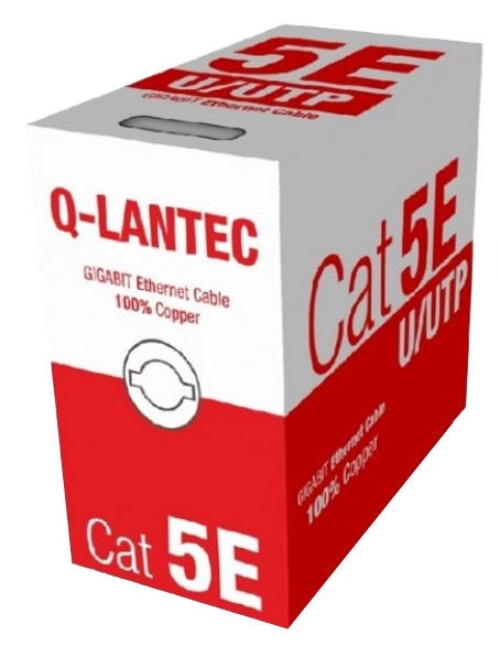 A-Lan Cable UTP CAT 5e 305m Black